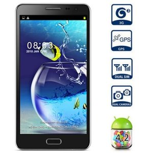 Smartphone Note 3 5,5 Inch Quad Core Zwart